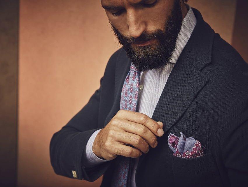 Stenströms klútur í jakka
