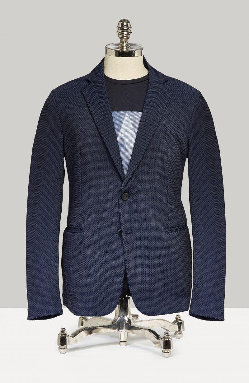 Armani jersey jakki - afslappað og elegant