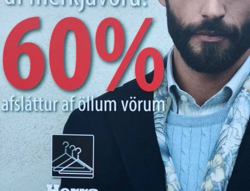 Opnum fulla búð af nýjum vörum á morgun með 60% afslætti